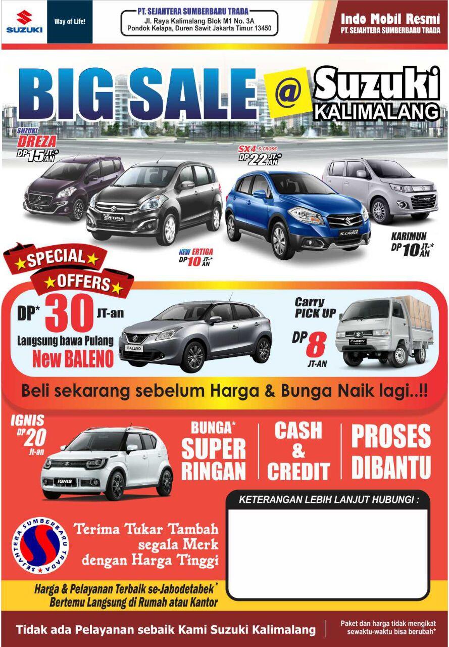 Promo Suzuki Kalimalang By Agung