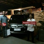 Foto Penyerahan Unit 1 Sales Marketing Mobil Dealer Mitsubishi Salatiga Asiyanto
