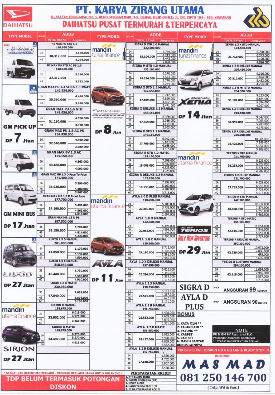 Promo Daihatsu By Khasan